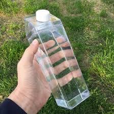 doorzichtige fles